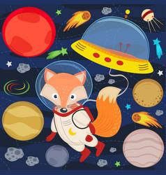 Fox in space vector