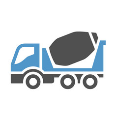 freight transport icon vector image