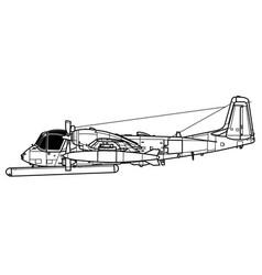 Grumman ov-1 mohawk vector