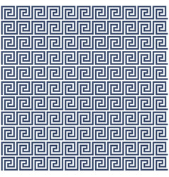 Meander style pattern - greek ornament background vector
