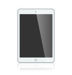 White apple ipad 2 mini or air vector image vector image