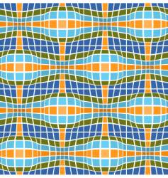 retro styled seriate background vector image vector image