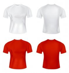 t shirt for men vector image