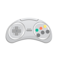 control console for computer game icon vector image