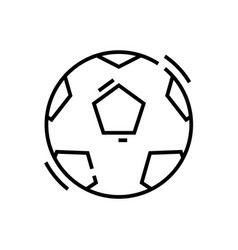 football line icon concept sign outline vector image