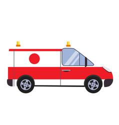 insurance and ambulance vector image