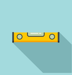 Level tool icon flat style vector