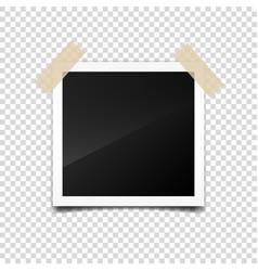 Photo cardframefilm set retrovintage vector