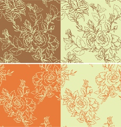 Rose 1color seam 380 vector