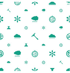 shine icons pattern seamless white background vector image