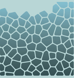 the pattern of the voronoi vector image