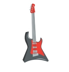 Classical electric guitar vector image