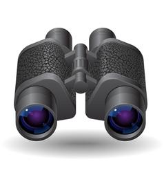 Icon for binoculars vector image
