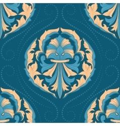 Seamless oriental wallpaper vector image vector image
