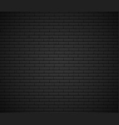 empty brick wall surface old grey brick wall vector image