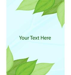 Green template vector