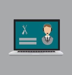 icon icon service vector image