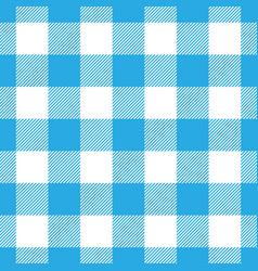 Lumberjack plaid pattern in blue and black vector