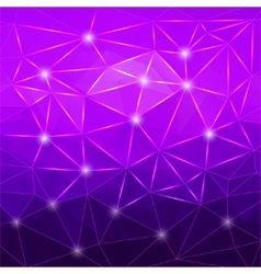 Modern abstract geometric purple background vector