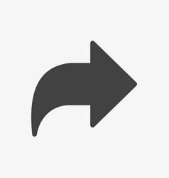 next icon arrows icon glyph solid style vector image