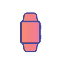 smartwatch icon sign symbol vector image