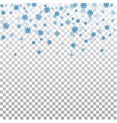 snowflake transparent background vector image