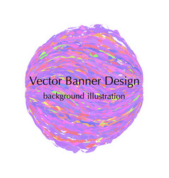 Sphere banner design vector