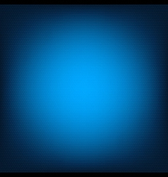 Blue honeycomb texture vector image vector image
