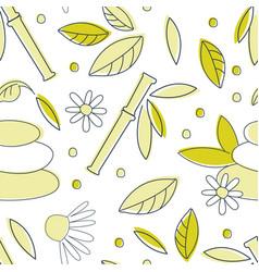 alternative medicine seamless pattern homeopathy vector image