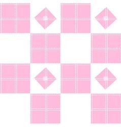 Chessboard Pink Background vector