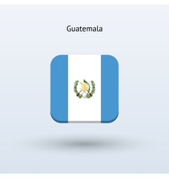 Guatemala flag icon vector