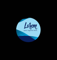 Lorem logo template design vector
