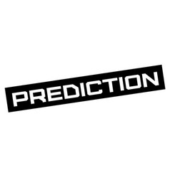 Prediction typographic sign vector