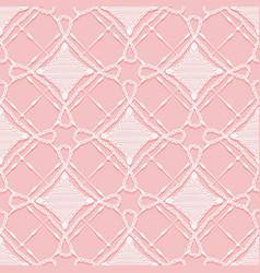 Seamless lace pattern imitation hand crochet vector