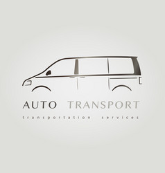 template of identity for car company vector image
