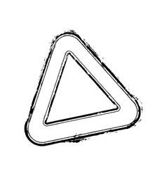 Triangle stamp vector