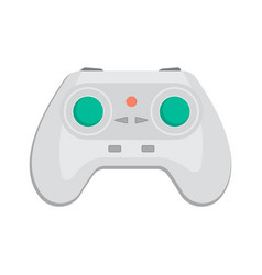 Wireless keypad for game console icon vector