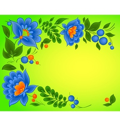 floral backgrounds paint pattern vector image vector image