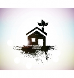 house symbol vector image vector image