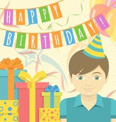 Happy Birthday Boy vector image
