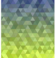 Abstract triangle mosaic background vector