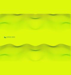 Abstract vivid color wavy stripe line pattern vector