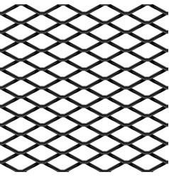 black chrome steel grating seamless structure vector image