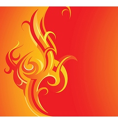 Decorative card with copy space vector