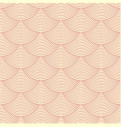 Linear scales seamless pattern vector