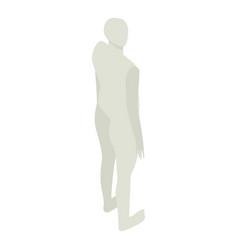 Mannequin icon isometric style vector