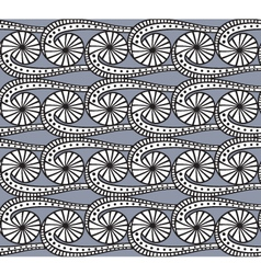 seamless grey pattern vector image