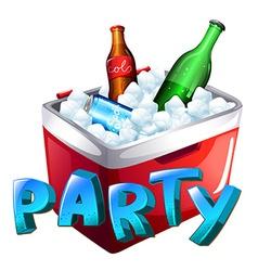 A party celebration vector