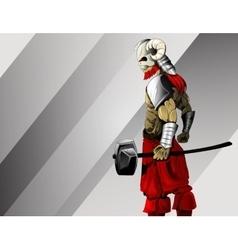Ancient warrior image vector image vector image