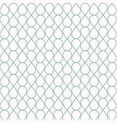 abstract seamless geometric blue lines pattern vector image